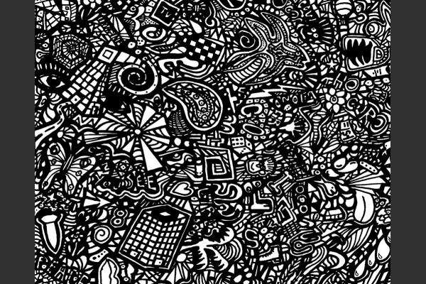 Urban Jungle-24x18 Limited Edition Screen print close up