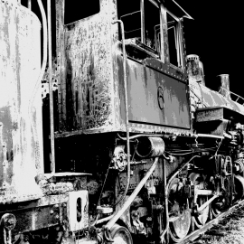 Ghost Train-8x10 Fine Art Print