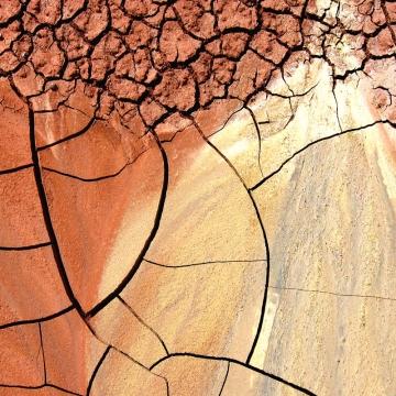 Dry Earth - 8x10 fine art print
